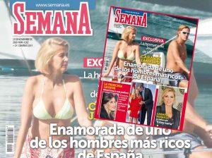En SEMANA, Carmen Janeiro, la hermana de Jesulín de Ubrique, enamorada de uno de los hombres más ricos de España