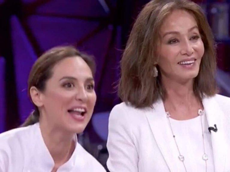 'Masterchef Celebrity': Isabel Preysler apoya a Tamara Falcó en la final