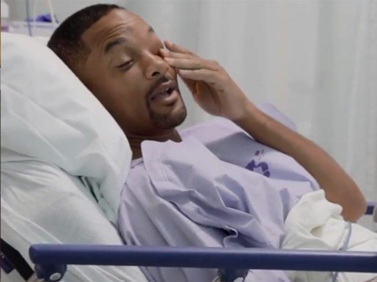 Will Smith muestra en directo su colonoscopia y le encuentran algo que podría ser cáncer