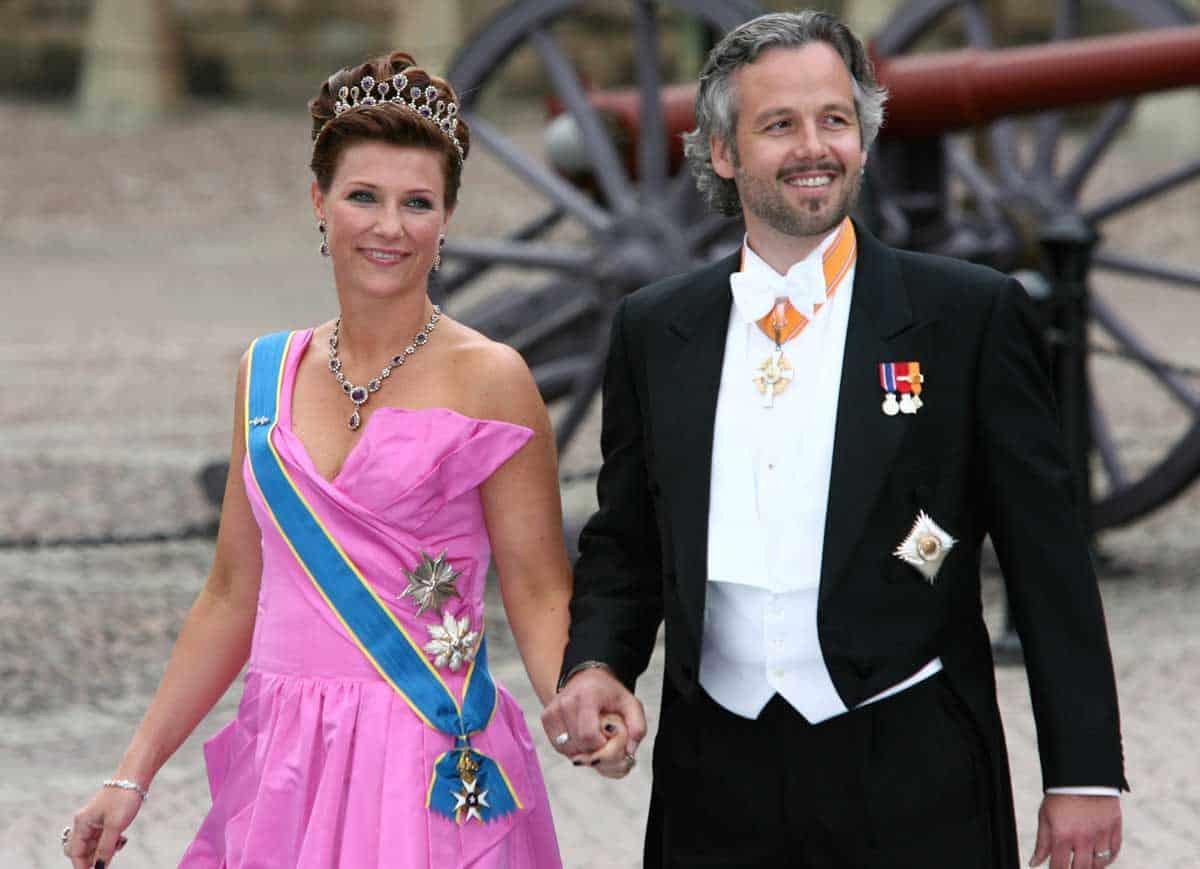 Marta Luisa de Noruega y Ari Behn