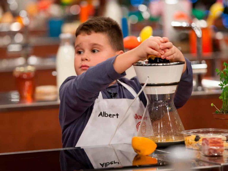 Todo lo que tienes que saber de Albert, el nuevo fenómeno televisivo de 'MasterChef Junior'