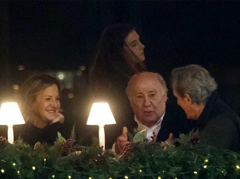Amancio Ortega y el distendido encuentro con sus consuegros en la hípica