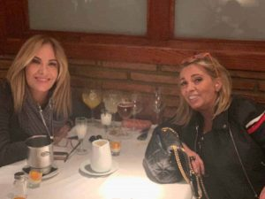 Belén Rodríguez se reconcilia con Carmen Borrego