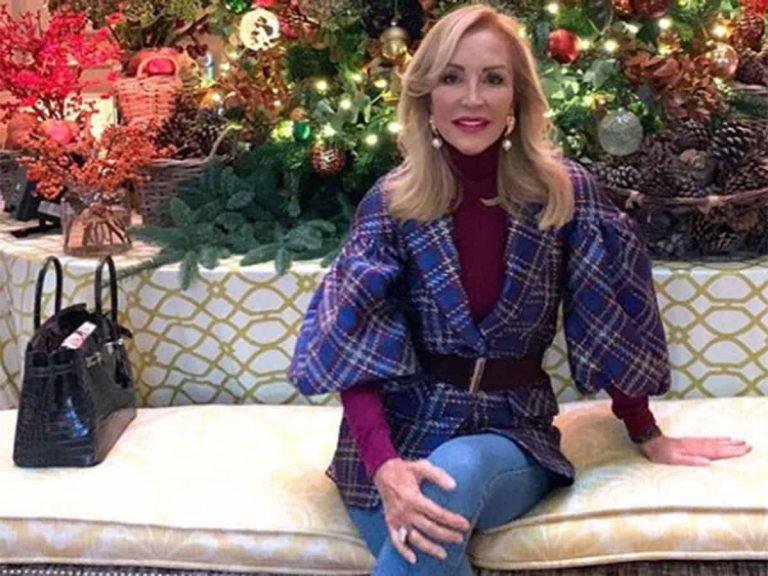 Carmen Lomana enseña cómo ha decorado su casa por Navidad