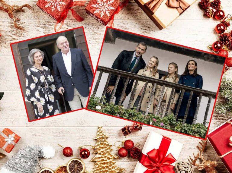 Los Reyes, en su línea, ceden el protagonismo a Leonor en su esperado Christmas