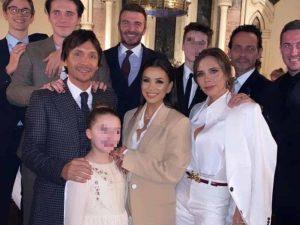 Los Beckham bautizan a sus hijos pequeños y eligen a cuatro famosísimos padrinos