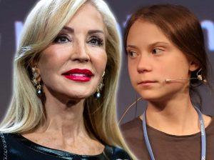 Carmen Lomana, contra Greta Thunberg: «No entiendo la cara de cabreada»