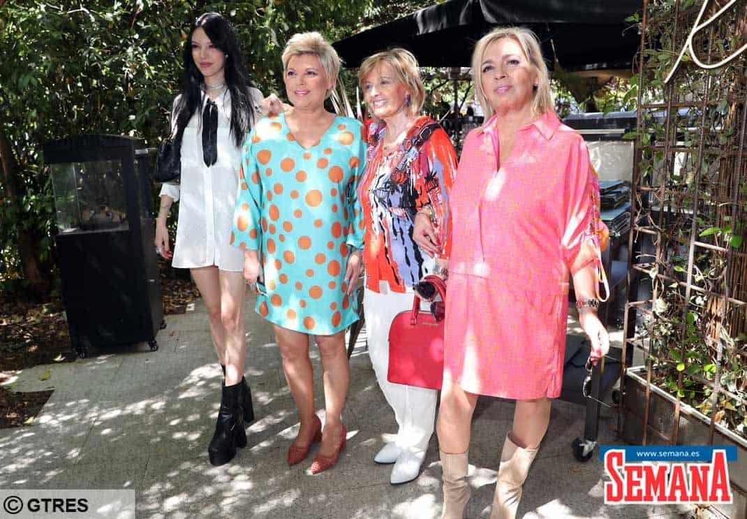 Alejandra Rubio, Terelu Campos, María Teresa Campos y Carmen Borrego
