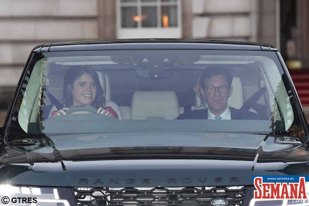 Royals Leaving The Queen's Christmas Lunch At Buckingham Palace