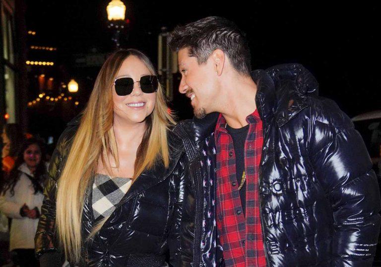 Mariah Carey presume de novio 'yogurín' en Aspen