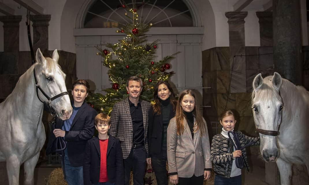 Familia real de dinamarca Navidad (2)