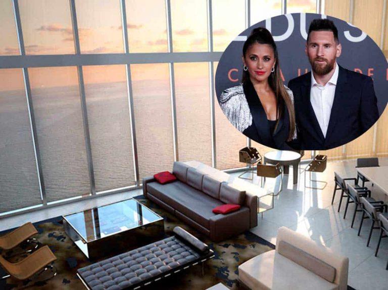 Esta es la lujosa casa de Leo Messi y Antonella Roccuzzo en Miami