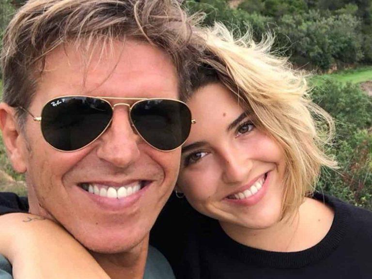 Fotos del día: La tierna felicitación de Manuel Díaz «El Cordobés» a su hija Alba por su cumpleaños