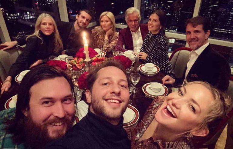 La gran noche de Marie Chantal de Grecia con Kate Hudson