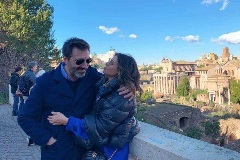 Nuria Roca, idílica escapada a Roma con su familia