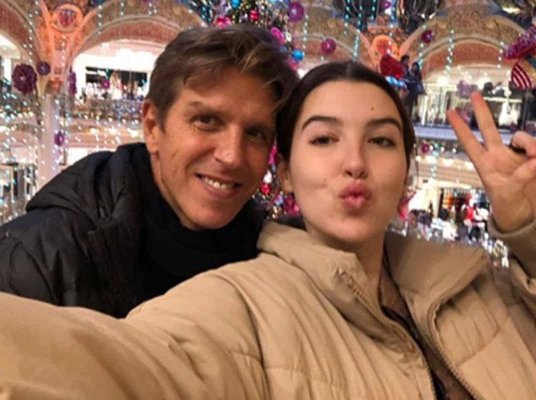 Así ha celebrado Alba Díaz su cumpleaños junto a su padre en París