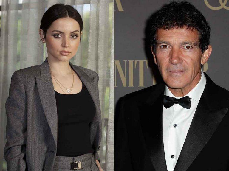 Antonio Banderas y Ana de Armas, dos reacciones opuestas a su nominación a los Globos de Oro