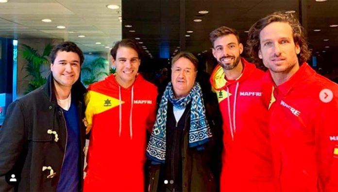 Feliciano Lopez, Rafa Nadal