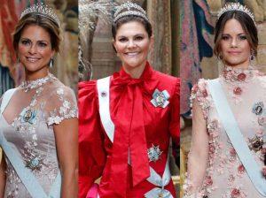 Victoria de Suecia gana la partida a las bellas de los Nobel