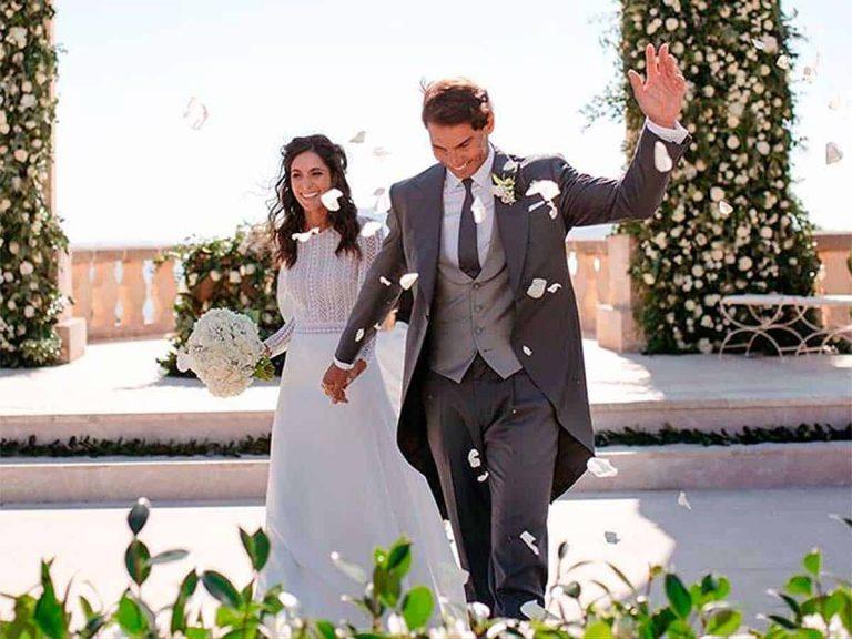 Fotos del día: Rafa Nadal se despide del 2019 con una nueva foto de su boda