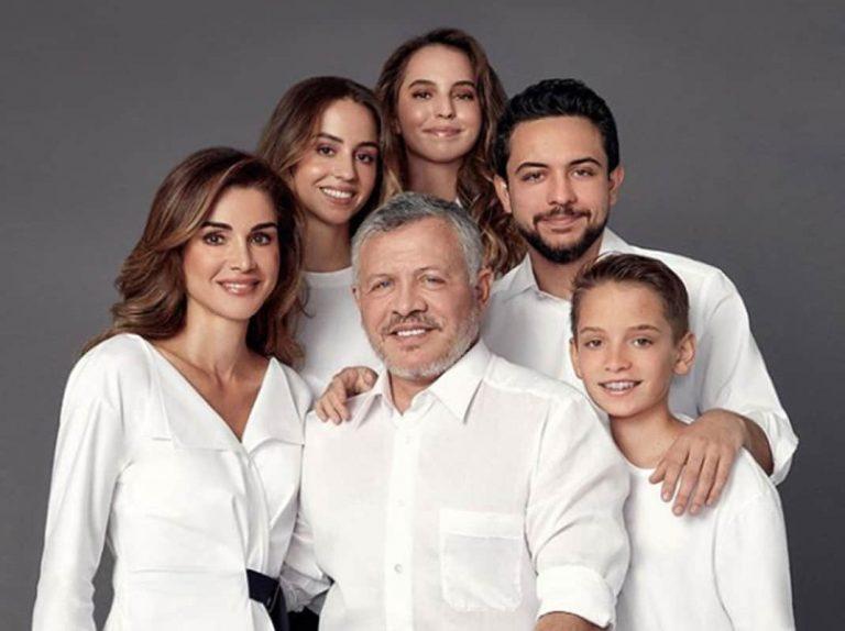 La felicitación navideña de Rania de Jordania