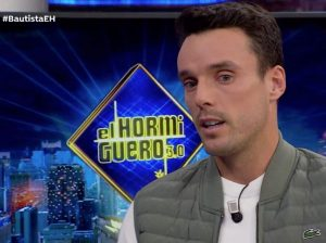 Roberto Bautista recuerda la trágica muerte de su padre en 'El Hormiguero'