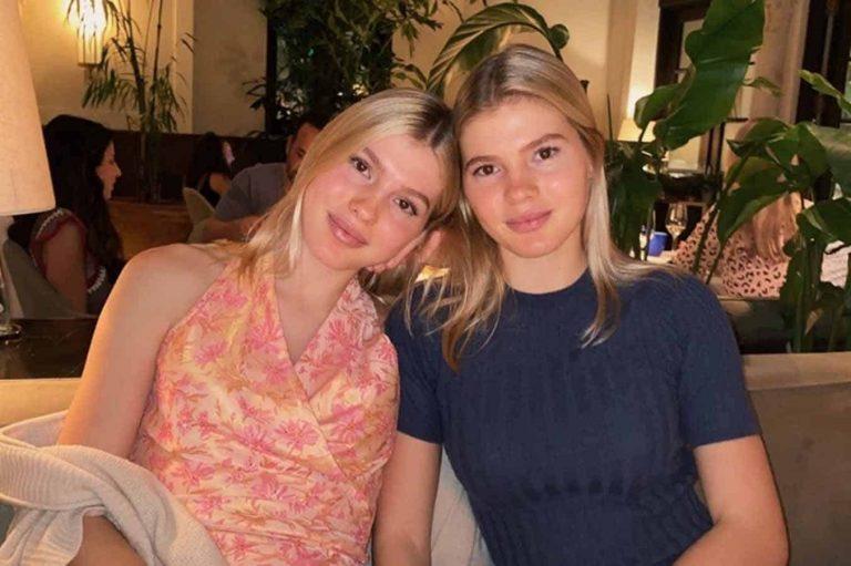Las gemelas de Julio Iglesias, vacaciones en el paraíso