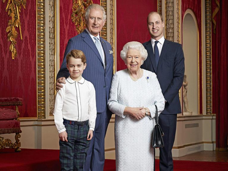 El príncipe George, protagonista del nuevo posado de la Famila Real británica