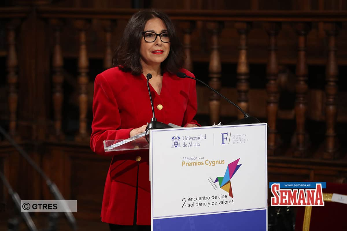 Isabel Gemio during Cygnus awards in Madrid on Friday, 17 January 2020.