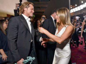 Brad Pitt y Jennifer Aniston, las fotos más esperadas de su encuentro