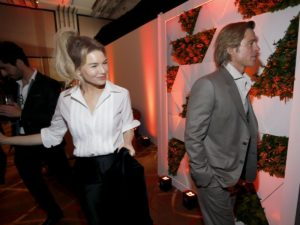 Brad Pitt y Renee Zellweger, protagonistas del almuerzo previo a los Oscar