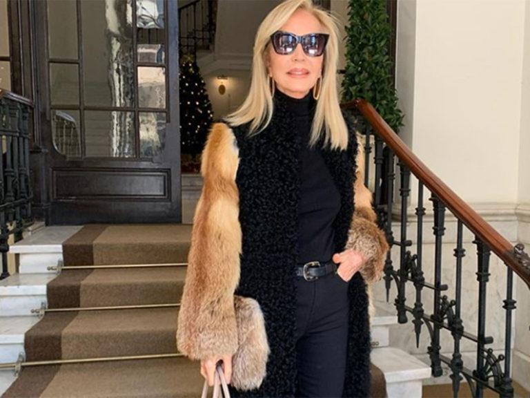Carmen Lomana se convierte en viral por las críticas a su abrigo de piel