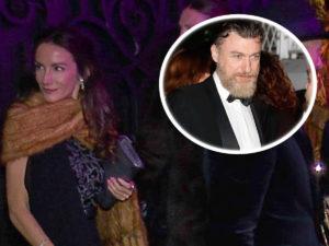 Telma Ortiz y su pareja, Robert Gavin Bonnar, reaparecen por sorpresa en los Goya 2020