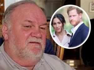 El padre de Meghan Markle le dedica nuevos insultos y se plantea demandarla por no dejarla ver a sus nietos