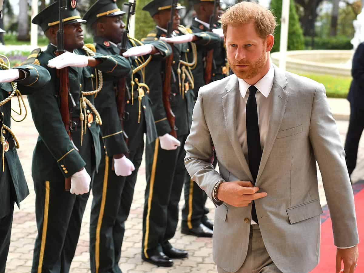 El Príncipe Harry Despeja Todas Las Dudas Tras Poner En