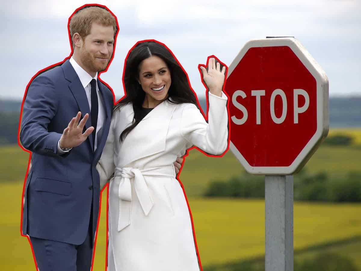 Harry y Meghan Markle rechazados