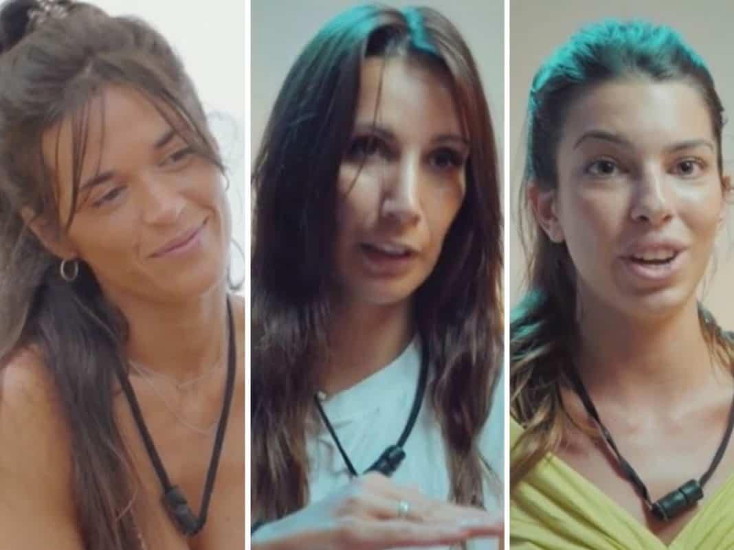 'La isla de las tentaciones': la bronca entre Fani, Andrea ...