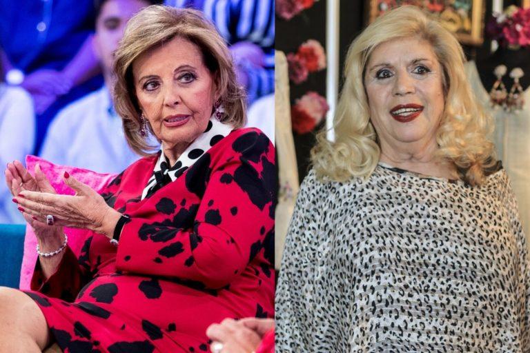 Guerra entre María Teresa Campos y María Jiménez por culpa de Bigote