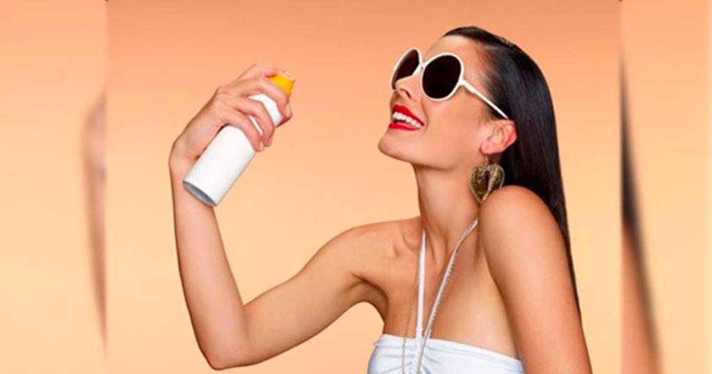 Utiliza factor de protección solar a diario y mejor si lo repones a lo largo del día