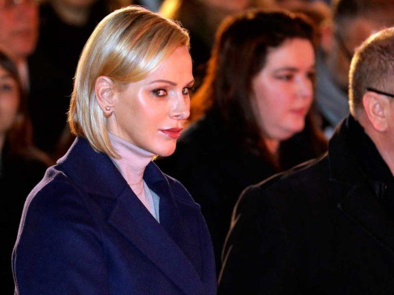 Charlène de Mónaco estrena rostro en Santa Devota