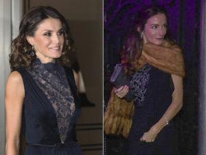 Telma Ortiz plagia a su hermana, la reina Letizia, en los Goya