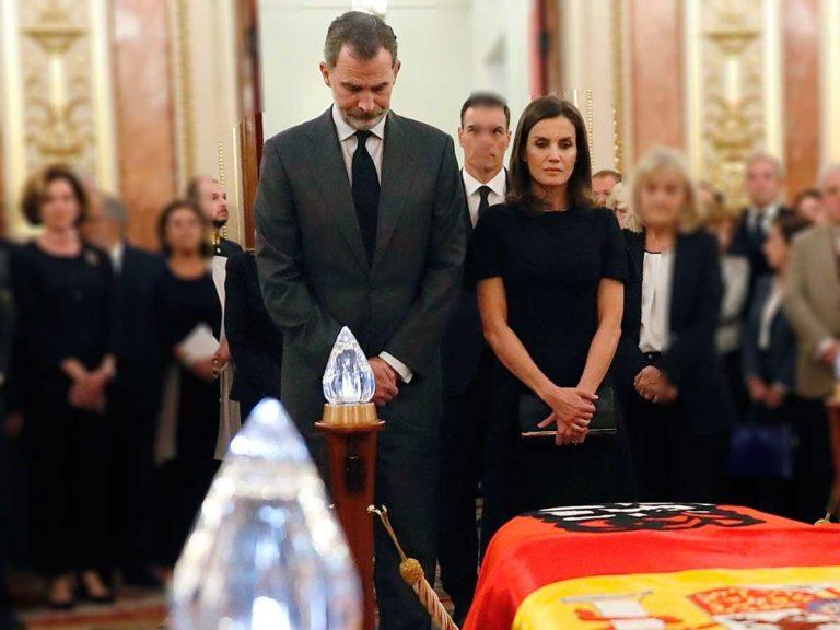 Los Reyes y los Reyes Eméritos asistirán al funeral de la Infanta Pilar en El Escorial