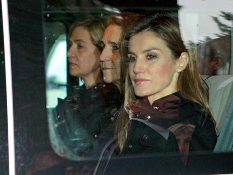 El gesto que confirma la tensión entre la reina Letizia y la infanta Cristina