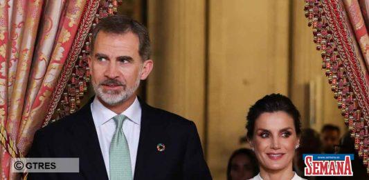 reina Letizia rey Felipe