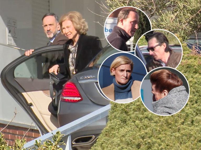 Preocupación por la infanta Pilar: la Reina Sofía y sus hijos ya están junto a ella