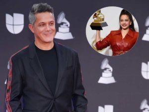 El emotivo mensaje de Alejandro Sanz a Rosalía tras ganar el Grammy