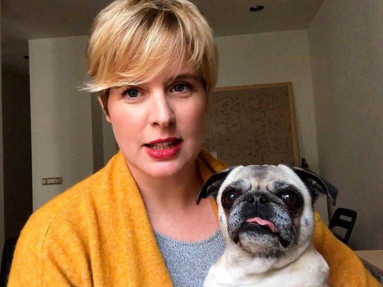 Duro golpe para Tania Llasera: muere su perrita Mila