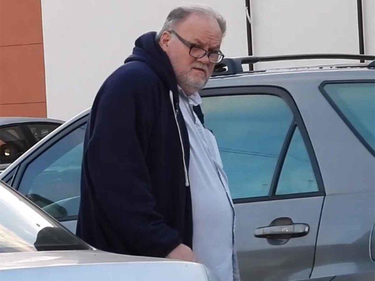 Thomas Markle, el padre de Meghan Markle, opina sobre su retirada