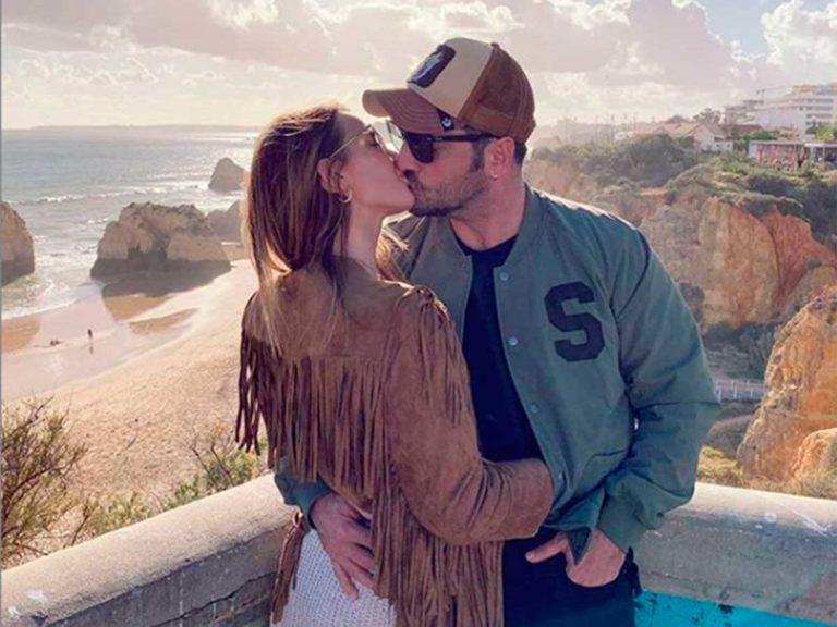 Yana Olina presume de historia de amor con David Bustamante con una foto muy romántica