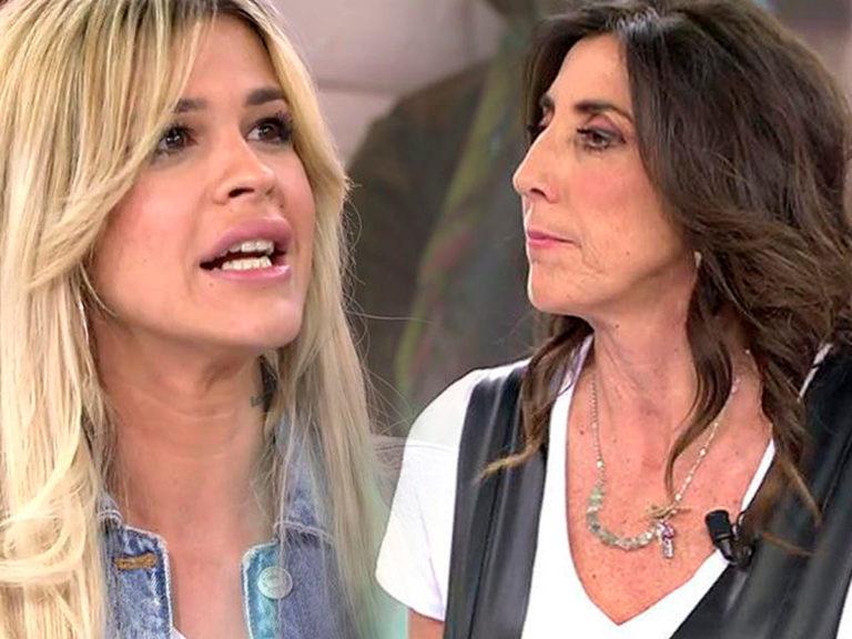 Paz Padilla e Ylenia Padilla protagonizan una pelea 'poco feminista' en Sálvame